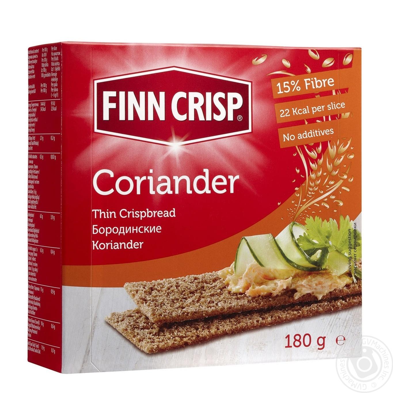 Сухари Finn Crisp Multigrain с кориандром 180г
