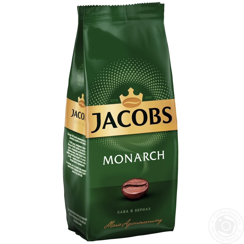 Кофе Jacobs Monarch в зернах 250г
