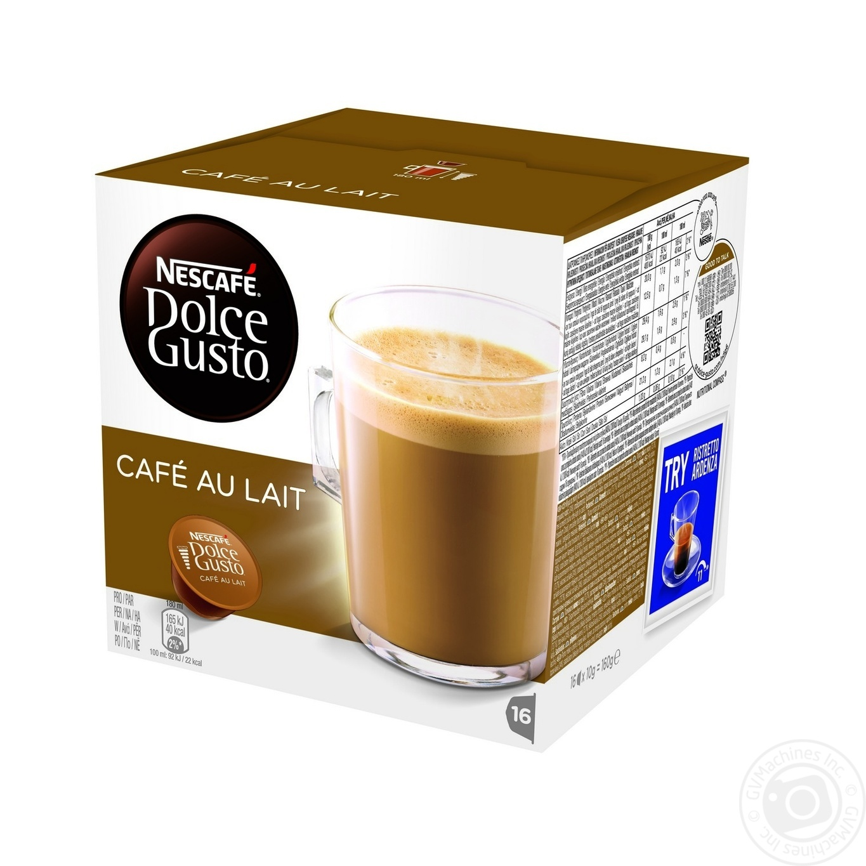 Кофейный напиток Nescafe Dolce Gusto Кафе-О-Ле в капсулах 16*10г