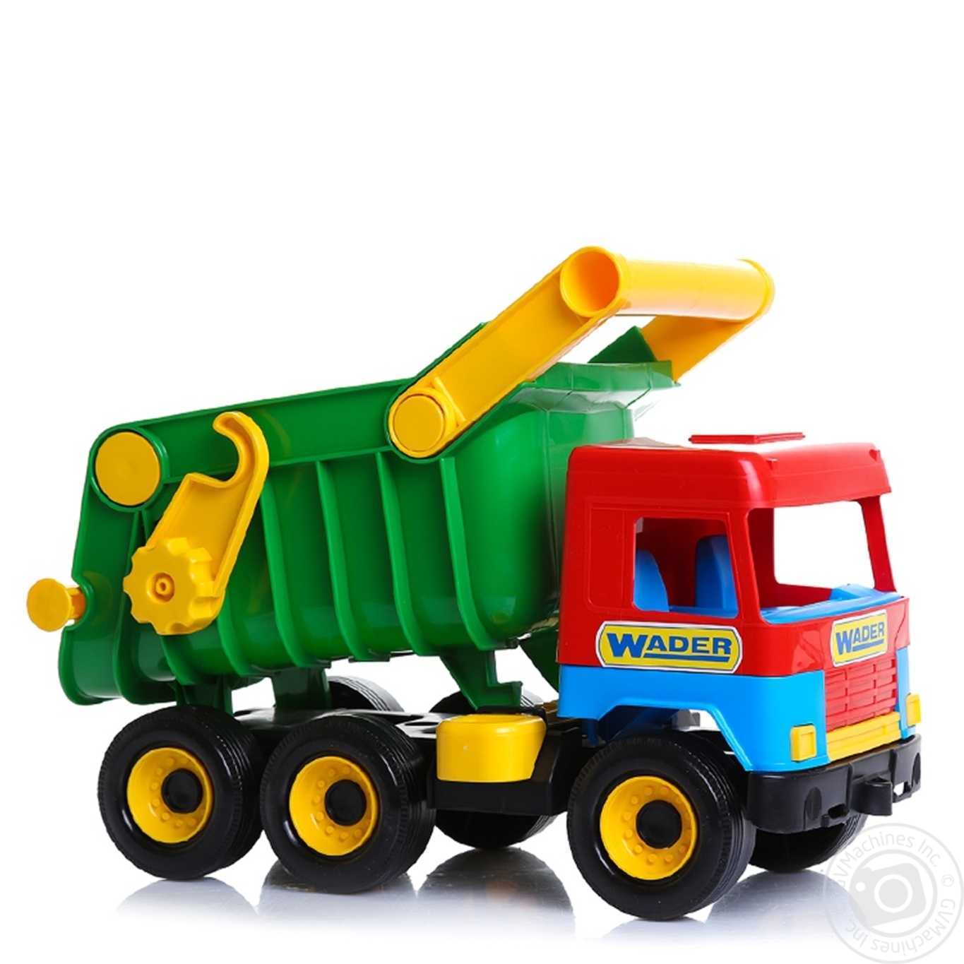 Игрушка Wader Middle truck самосвал