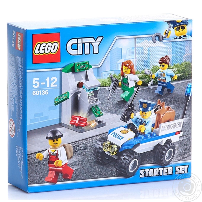 LEGO ПОЛІЦІЯ: СТАРТОВ НАБ  601