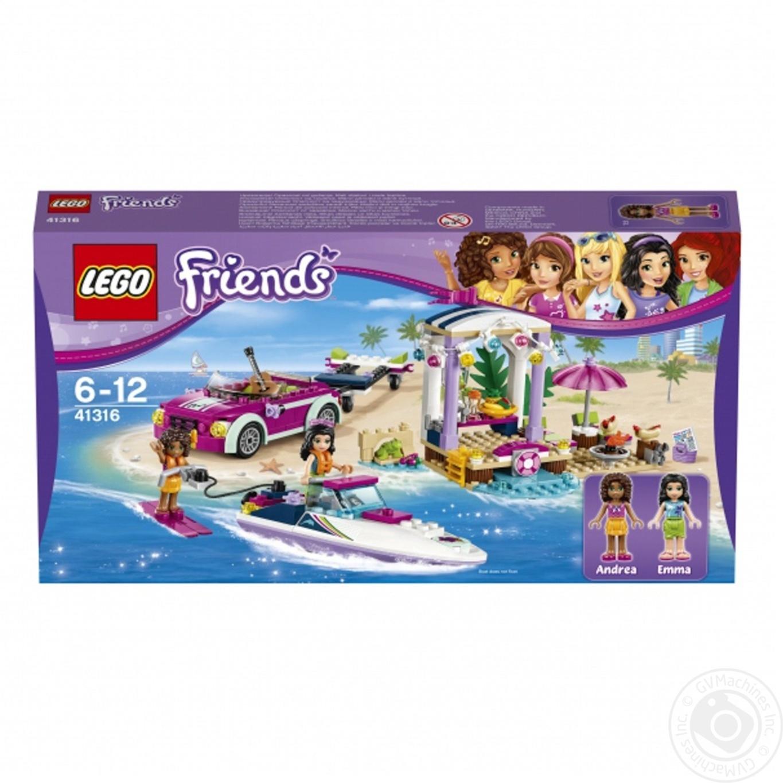 Конструктор LEGO Friends Скоростной катер Андрэа 309 деталей (41316)