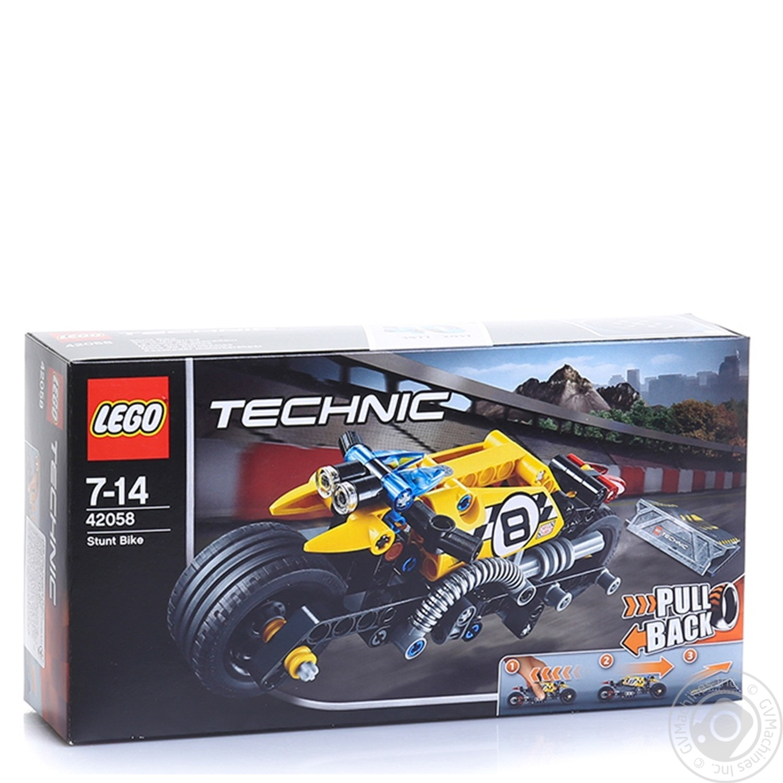 LEGO МОТОЦИКЛ ДЛЯ ТРЮКІВ  4205