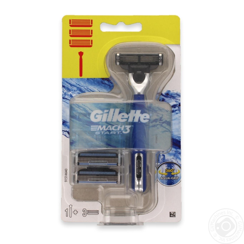 GILLETTE M3 START БРИТВА+ 3КАС