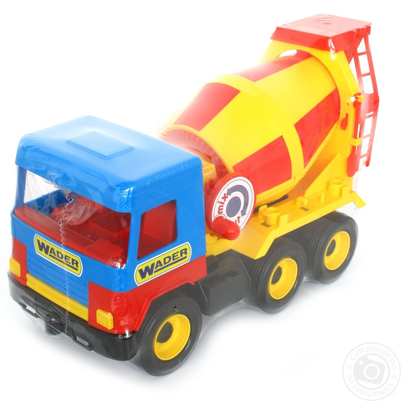 Игрушка бетоносмеситель Middle Truck