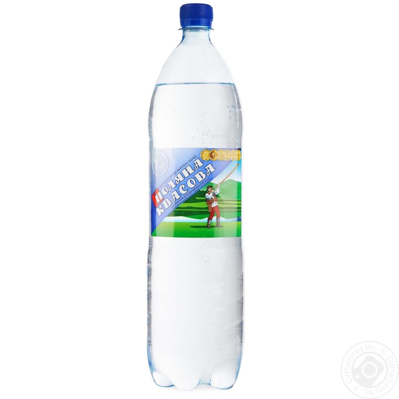 Вода Поляна Квасова сильногазированная лечебно-столовая 1500мл