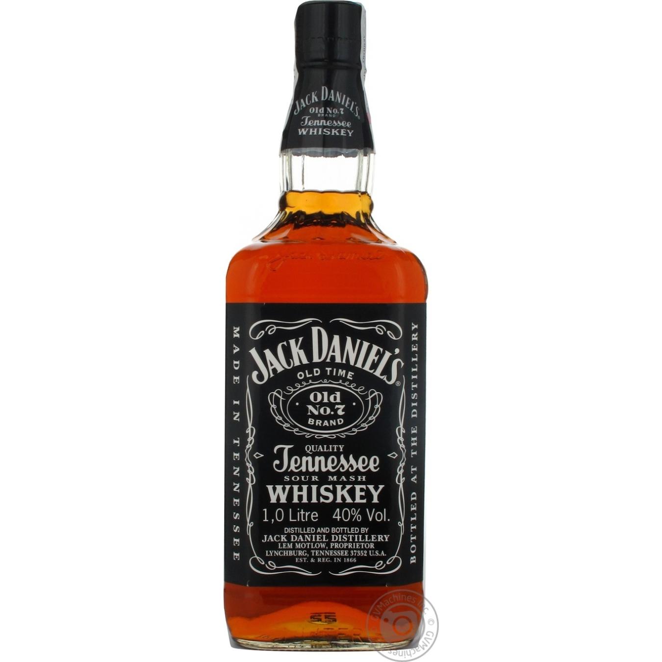 Виски Jack Daniels 1л
