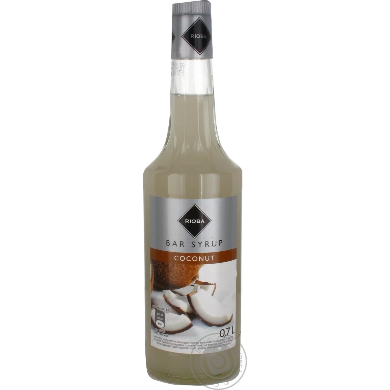 Сироп Rioba десертный кокосовый 0,7л
