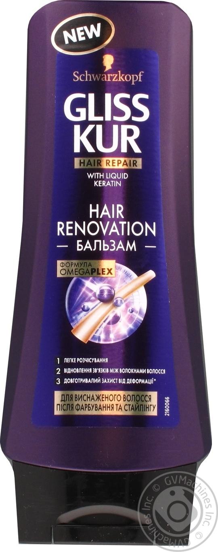 Бальзам Gliss Kur Hair Renovation 200мл
