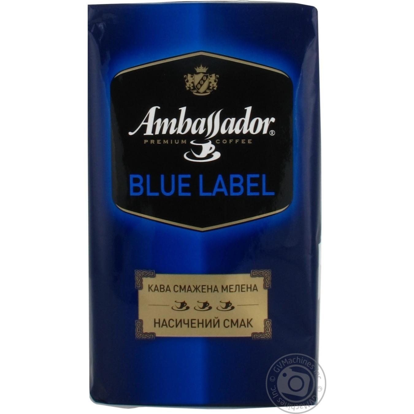 AMBASSADOR МЕЛ BLUE LABEL 500Г