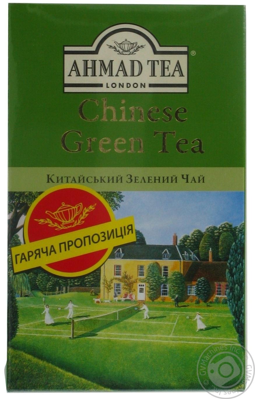 Чай Ahmad китайский зеленый 100г