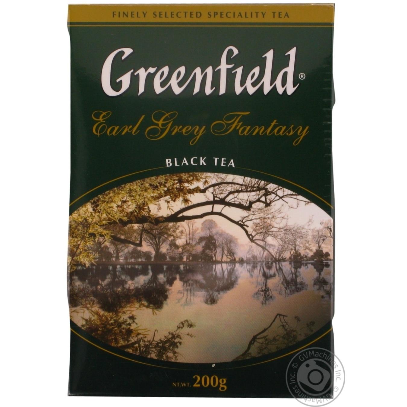 Чай Greenfield Earl Grey Fantasy чёрный 200г