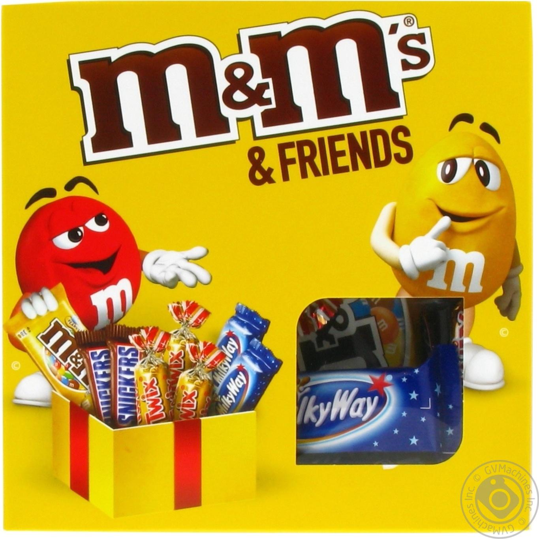 Набор конфет M&M's Friends