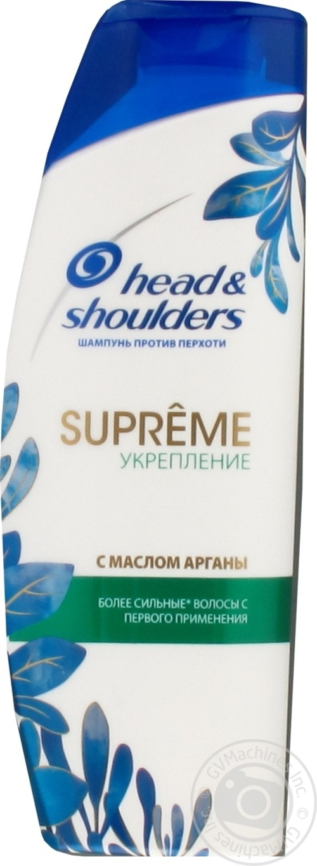 H&S ШАМП SUPREME ЗМІЦН 300МЛ