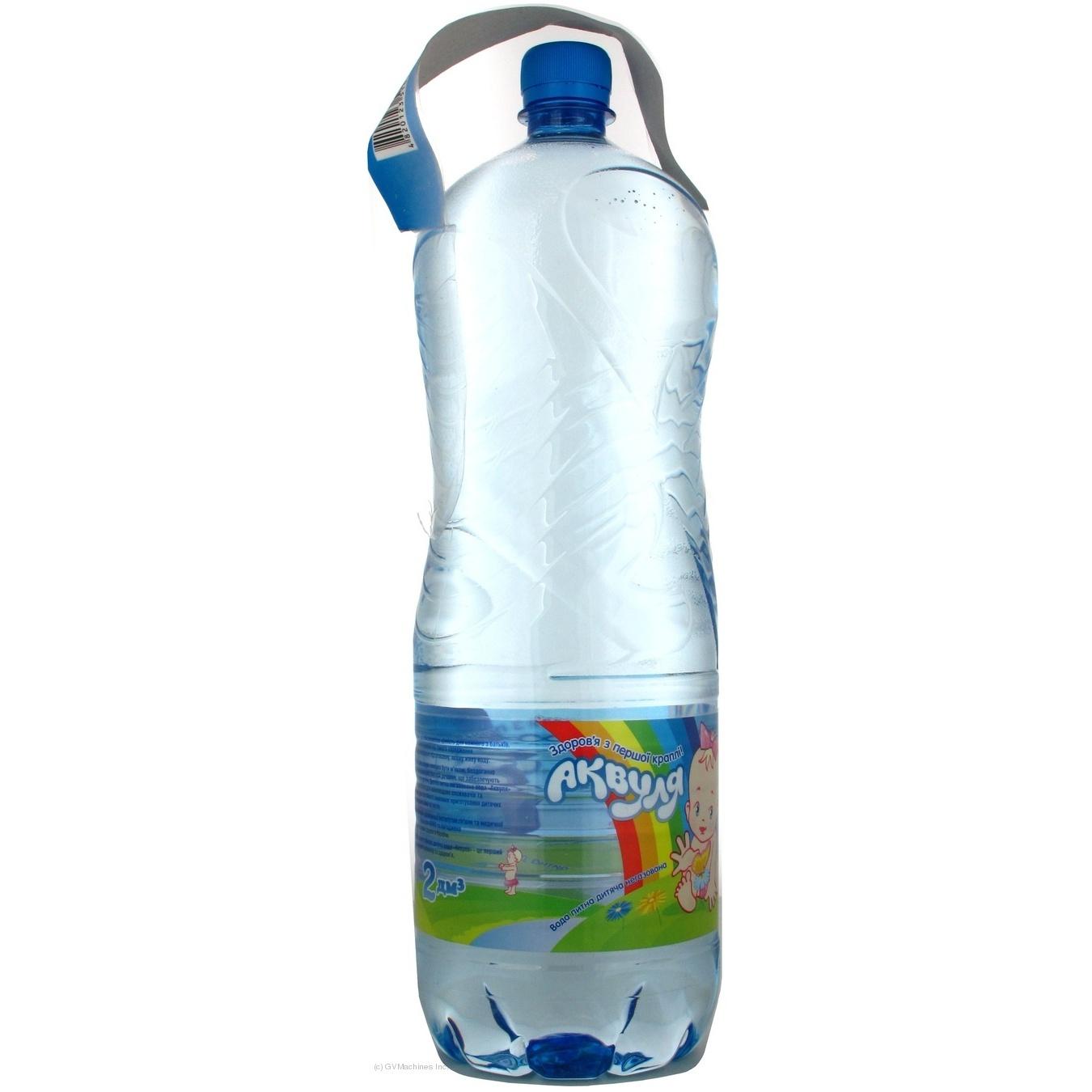 Вода Аквуля негазированная 2000мл