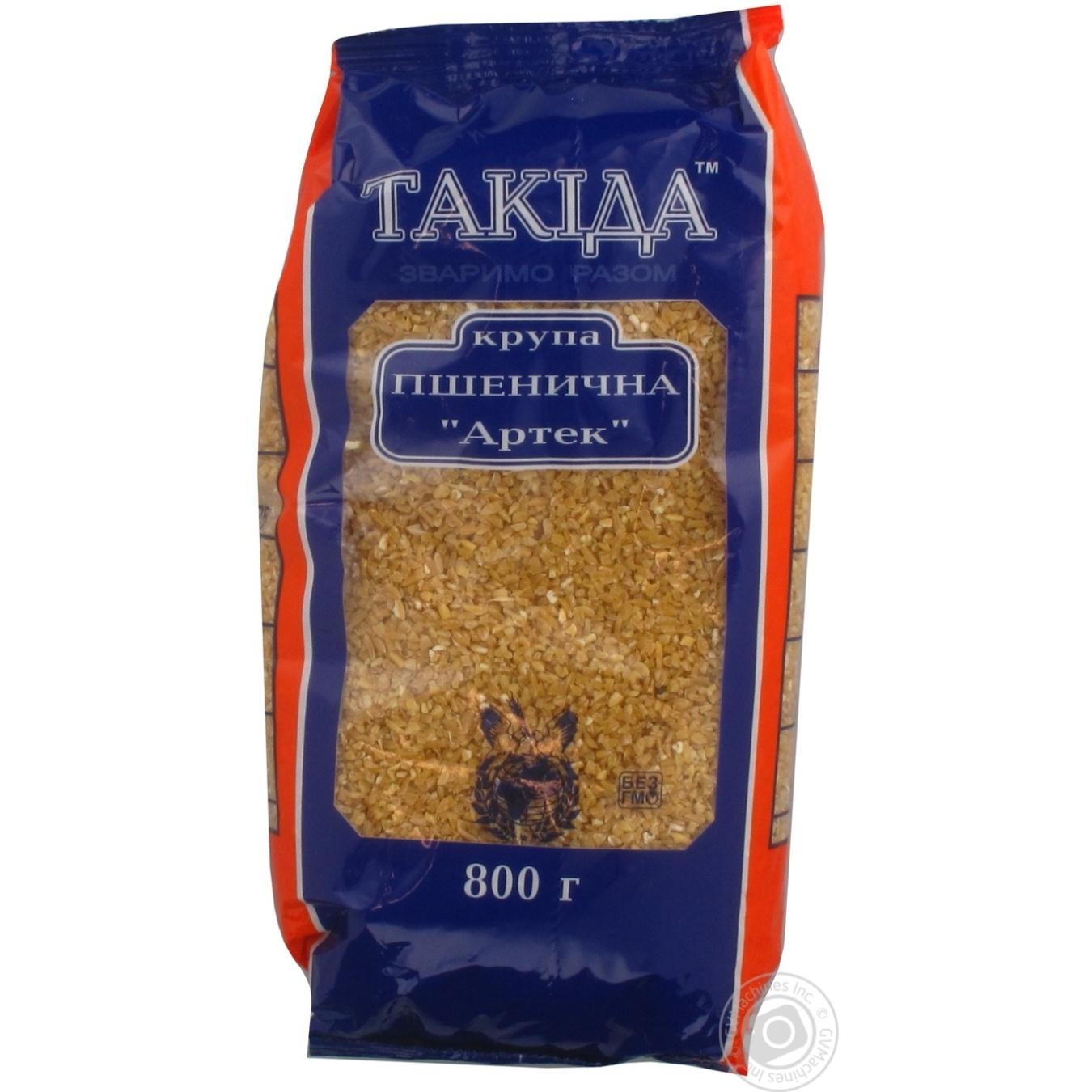 Крупа Такида Артек пшеничная 800г