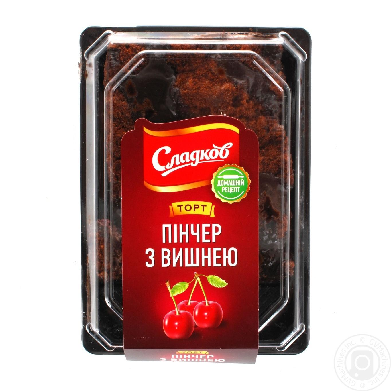 Торт Сладков Пинчер с вишней 250г