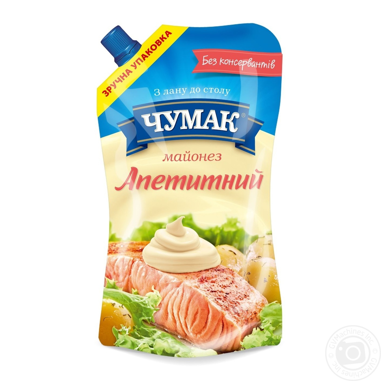 Майонез Чумак Аппетитный 30% дой-пак 350г
