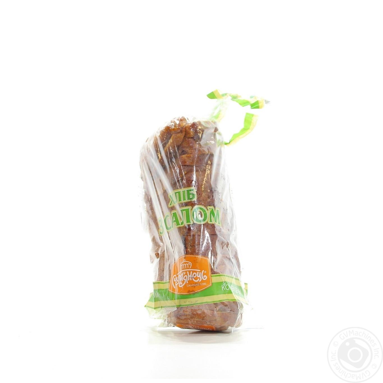 Хлеб Румянец с салом 400г