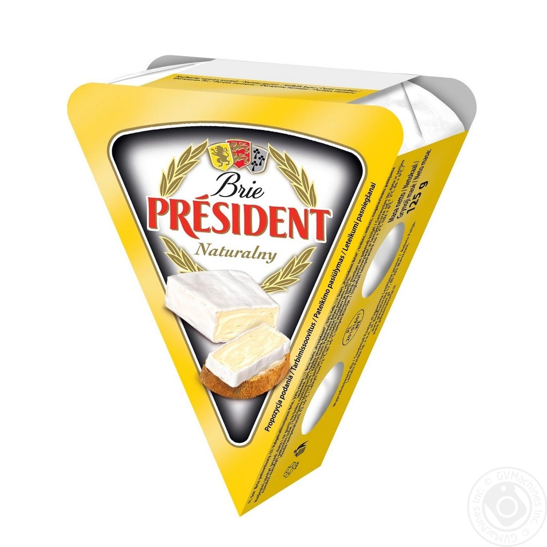 Сыр Президент Бри мягкий 60% 125г