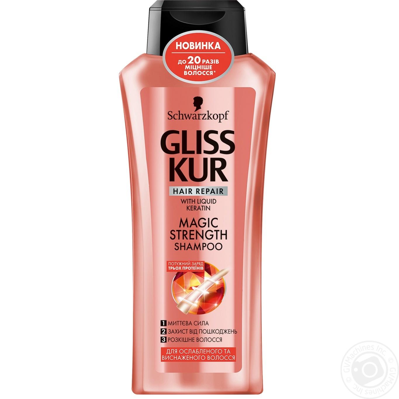 Шампунь для волос Gliss Kur Магическое укрепление 400мг