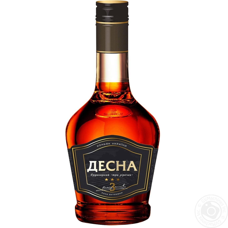 DESNA КОНЬЯК ОРД 3 * 0,25