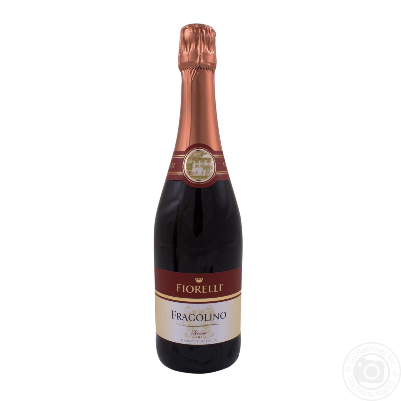 Вино Fiorelli Fragolino Rosso красное клубника 0,75л