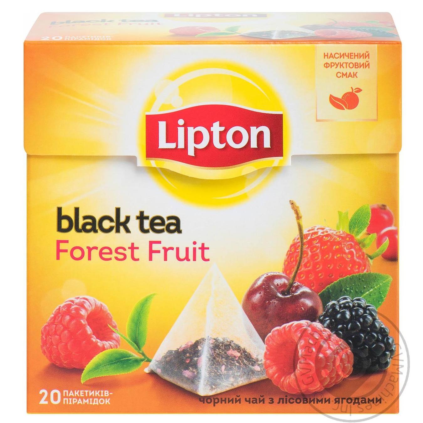 ЧАЙ ЧОРНИЙ LIPTON FOREST FRUIT