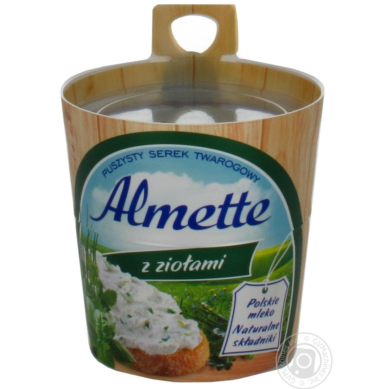 Сыр творожный Хохланд Альметте с травами 60% 150г
