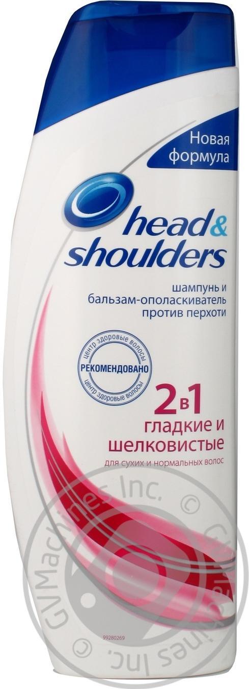 Шампунь Head&Shoulders Гладкие и шелковистые 2в1 400мл