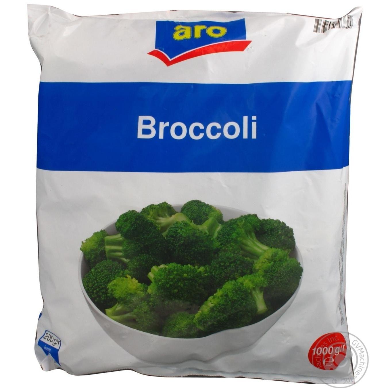 Брокколи Aro свежезамороженная 400г