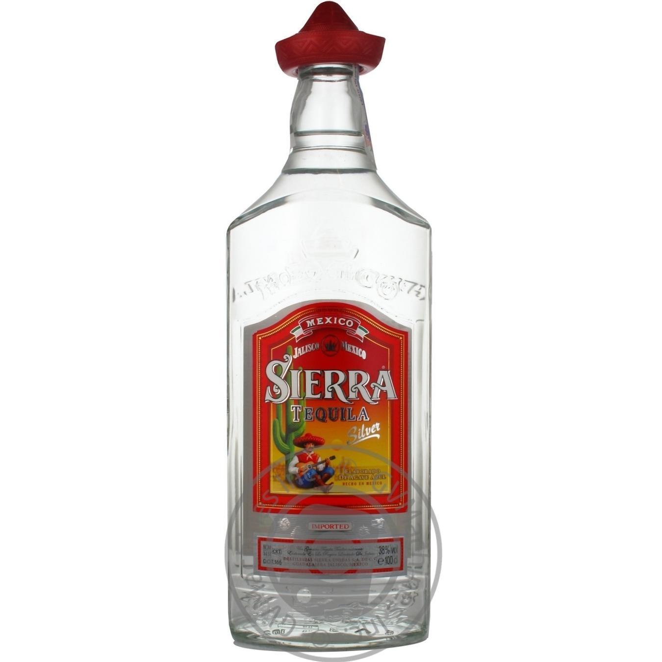 Текила Sierra Silver 1л