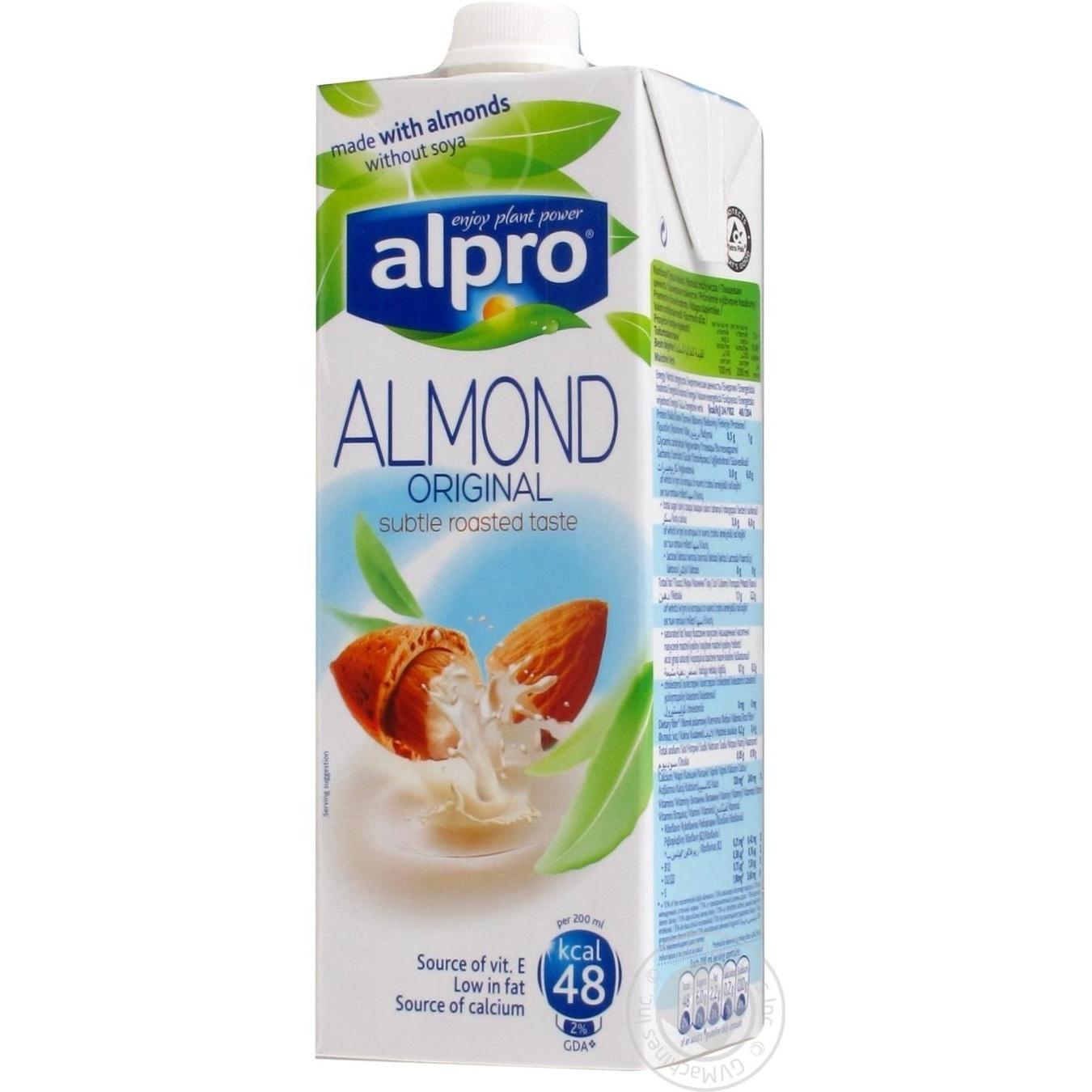 Напиток миндальный Альпро Ориджинал 1000 мл