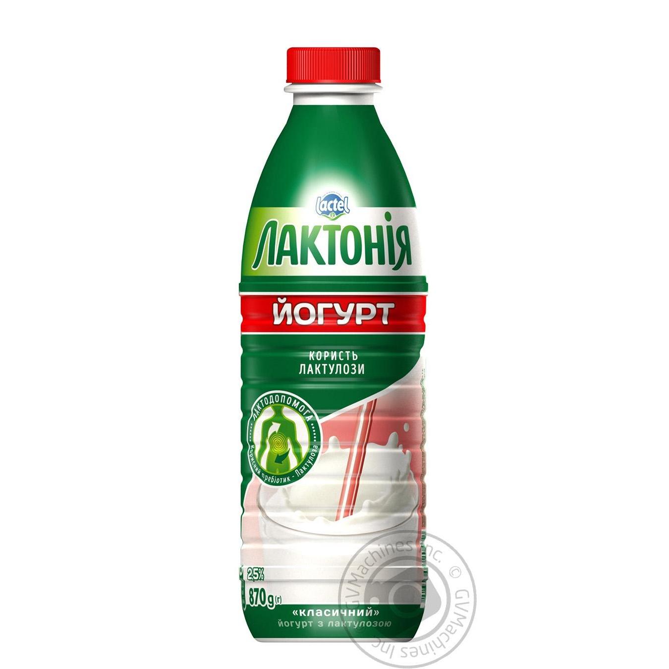 Йогурт Лактония Классический с лактулозой 2.5% 870г