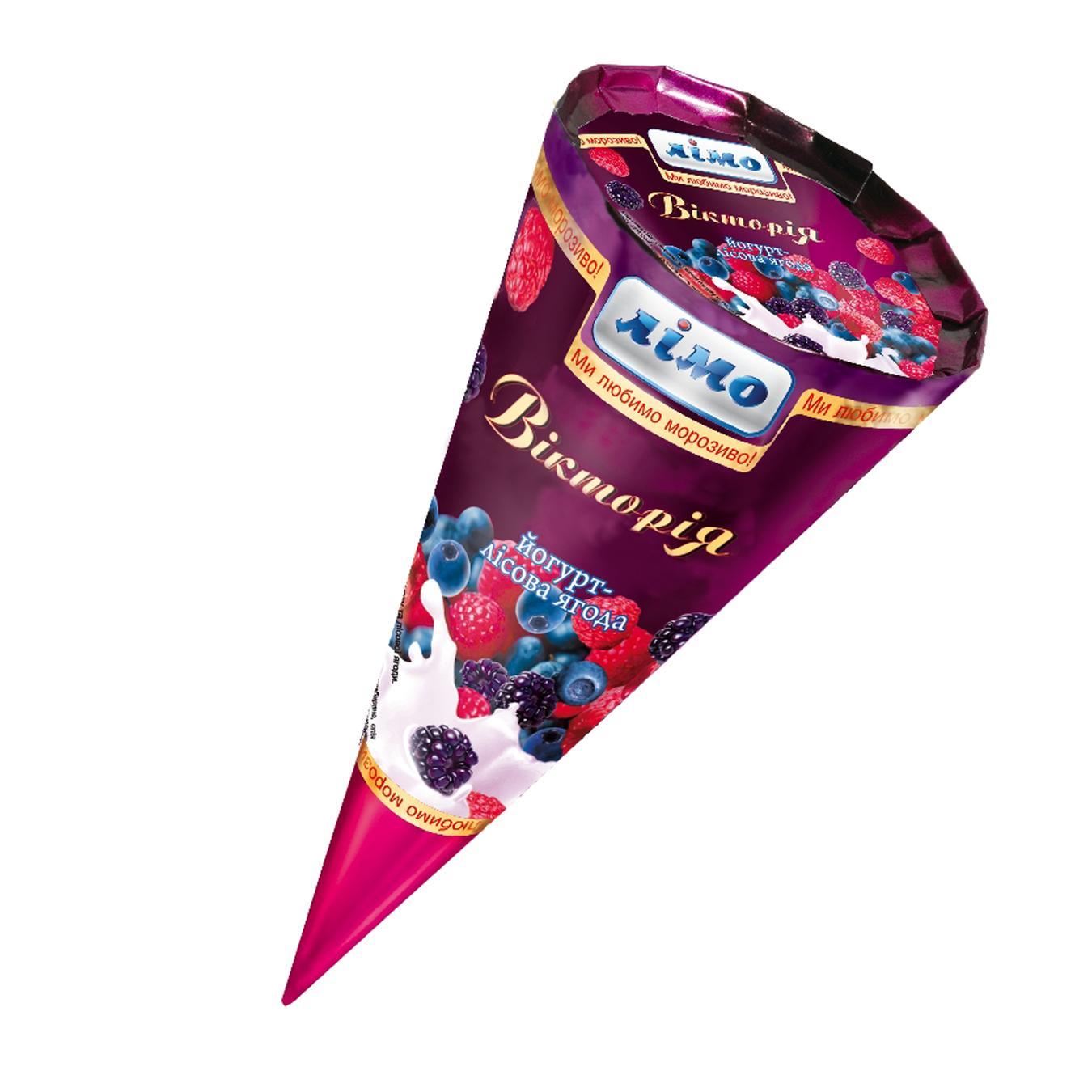 Мороженое Лимо Виктория йогурт - лесная ягода 100г