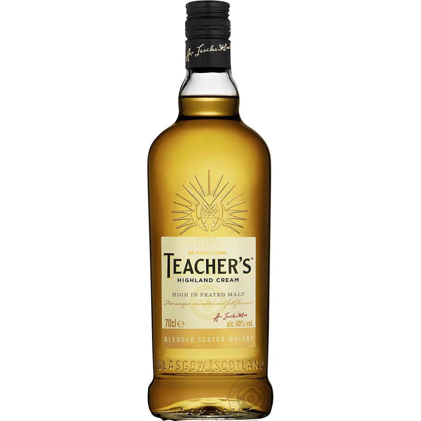 Виски Teacher's 40% 700мл