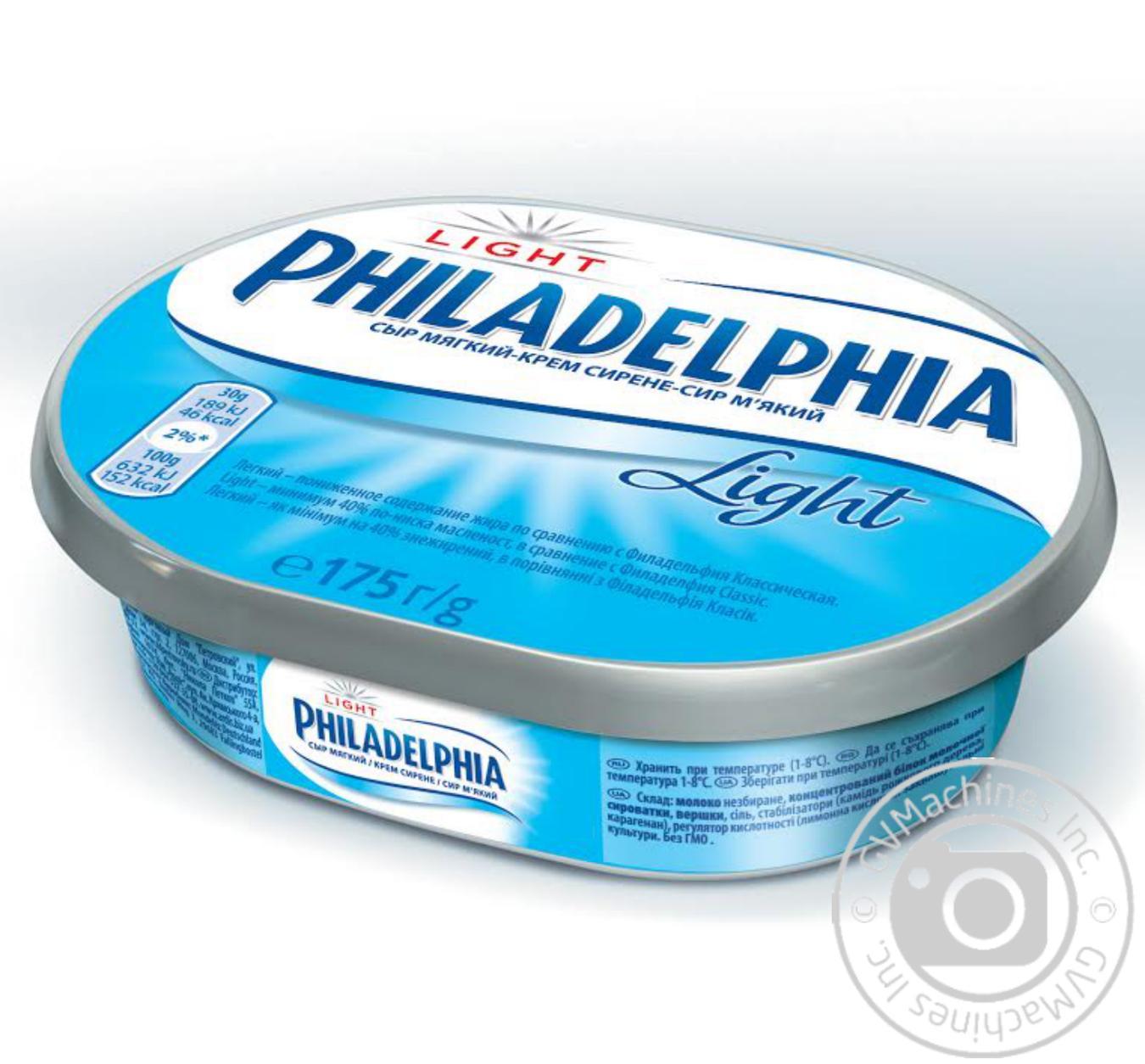 Сыр Филадельфия легкая ТМ Филадельфия 175г