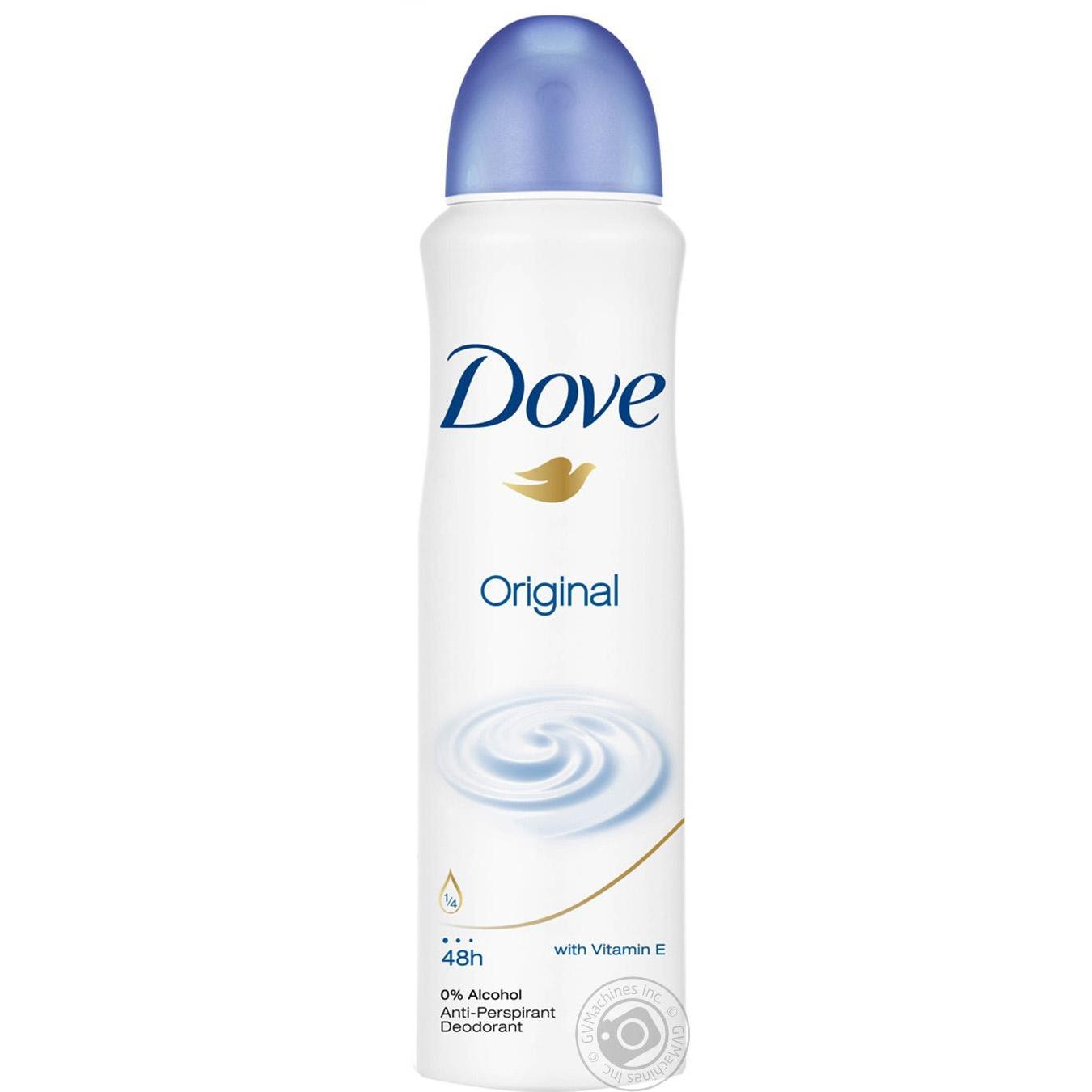 Антиперспирант Dove Original спрей 150мл