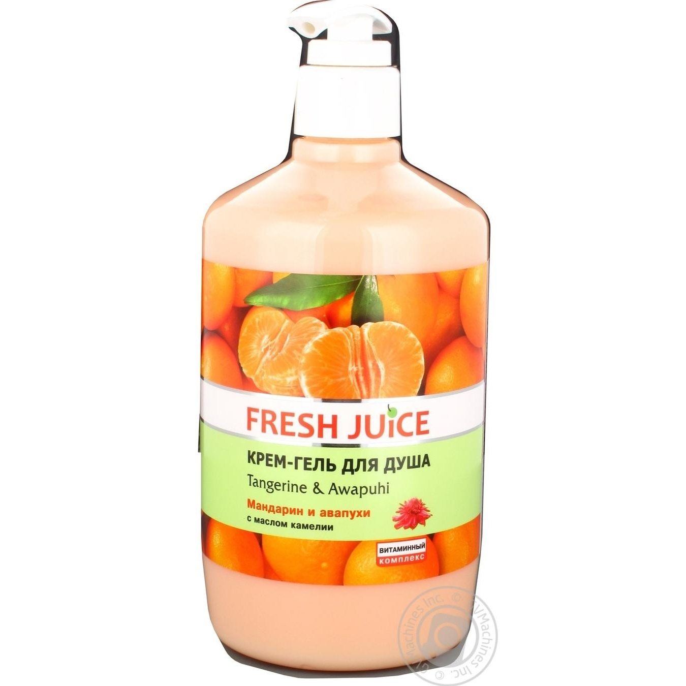 Гель для душа Fresh Juice Мандарин и авапухи 750мл