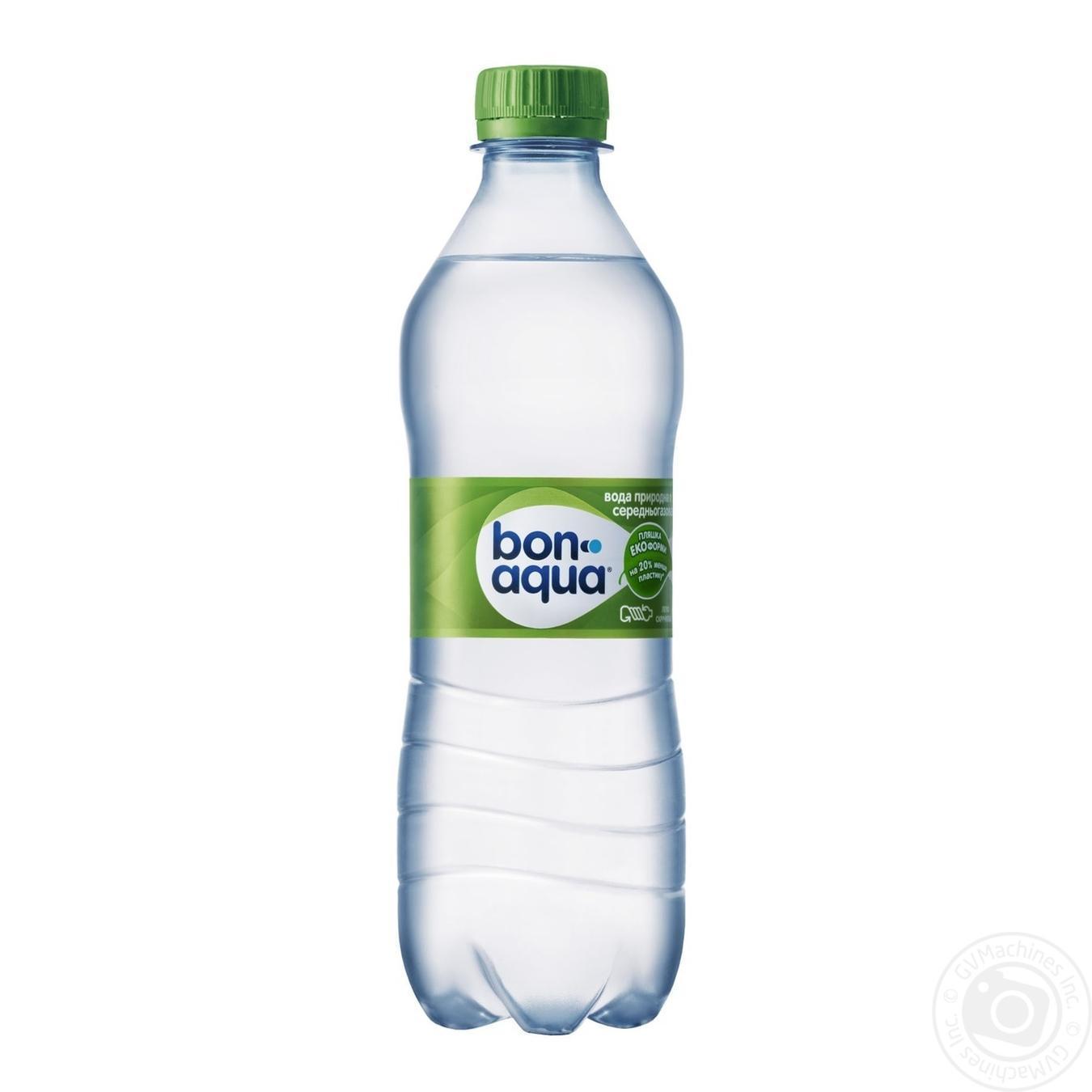 Вода Бонаква среднегазированная 500мл