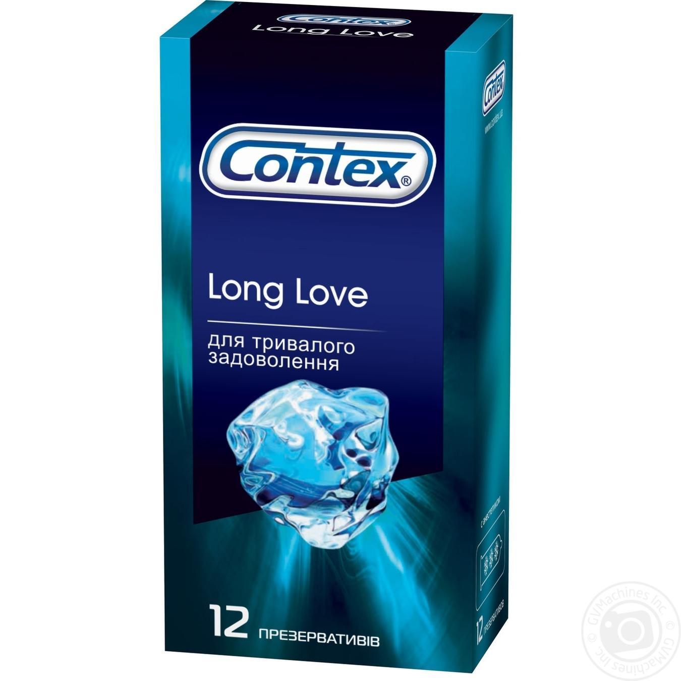 Презервативы Contex Long love 12шт
