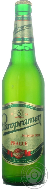 Пиво Старопрамен светлое 500мл