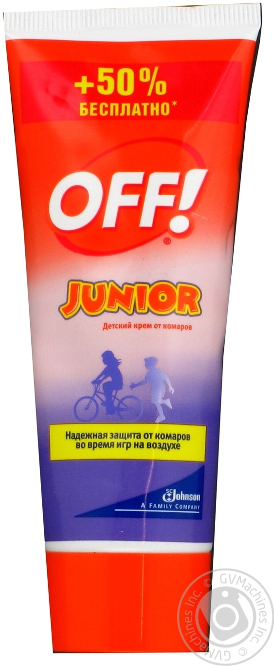 Крем против комаров OFF! Junior  Экстрим 50мл