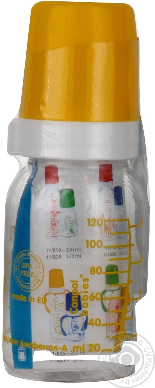 Бутылочка Canpol BPA free 120мл
