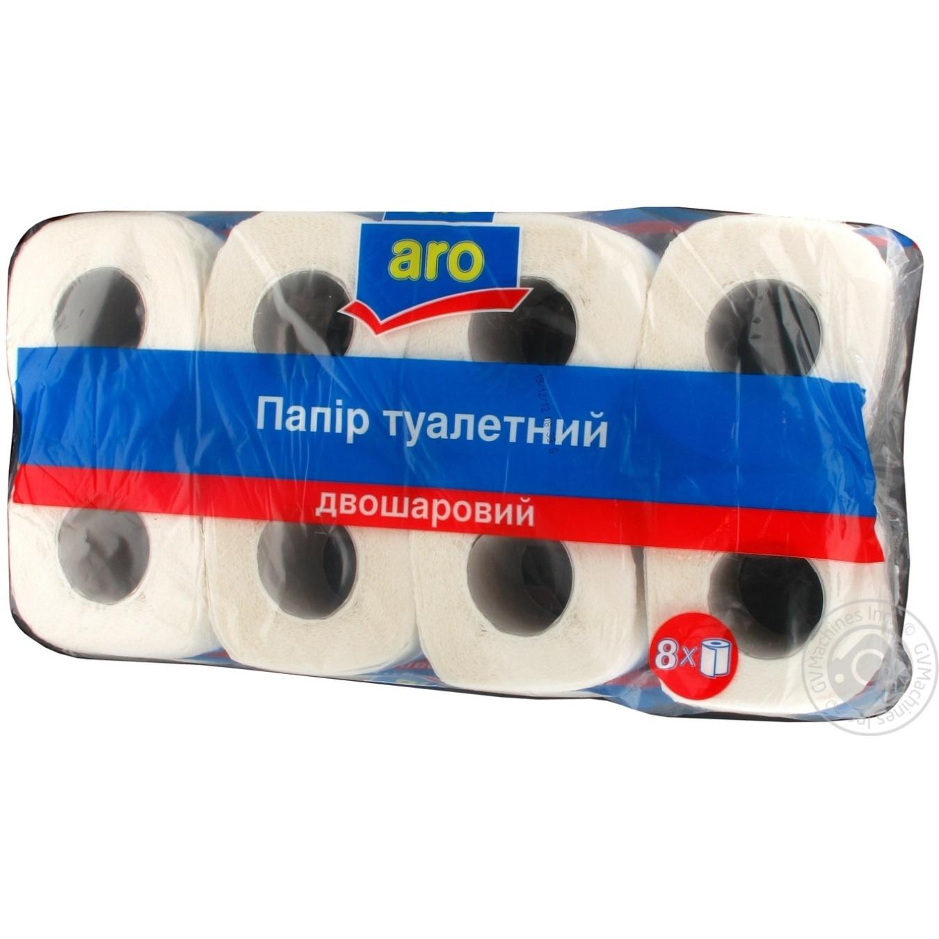 Туалетная бумага Аро 8шт Украина