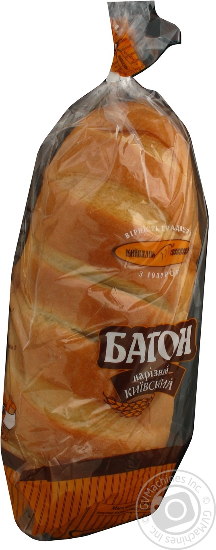 Батон Киевхлеб Киевский нарезной (целый) 500г
