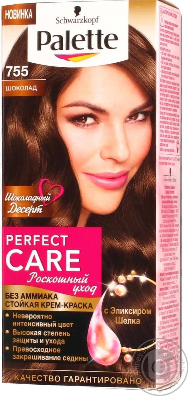 Краска для волос Palette Роскошный уход шоколад