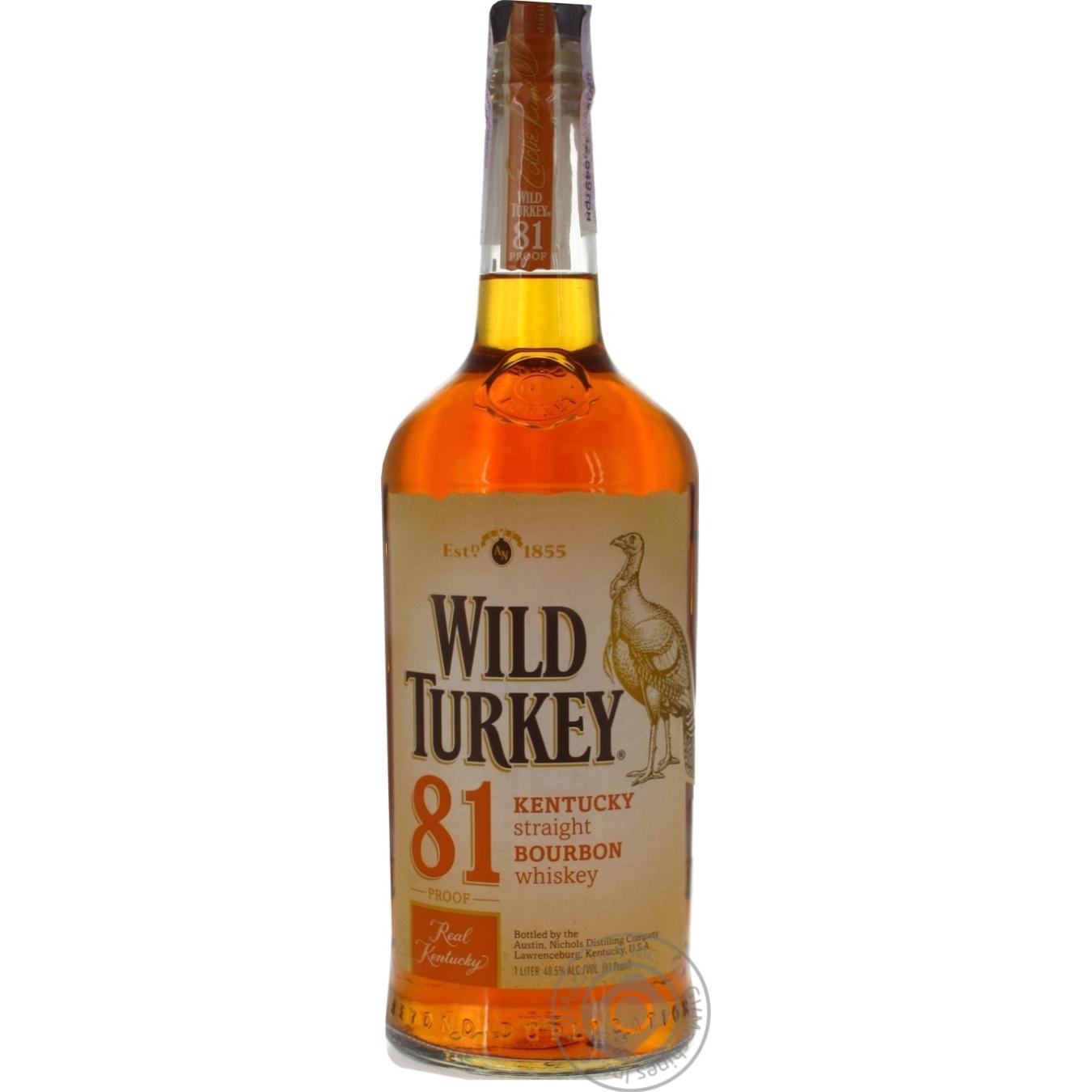 WILD TURKEY БУРБОН 81 1Л