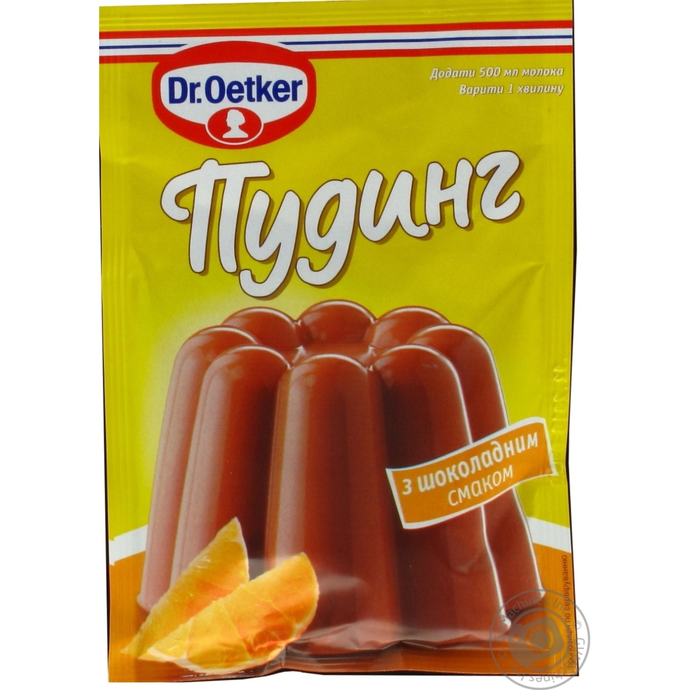 Пудинг Др.Оеткер с шоколадным вкусом 50г