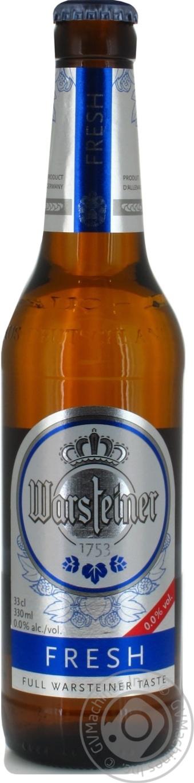 Пиво Варштайнер Фреш безалкогольное солодовое 330мл